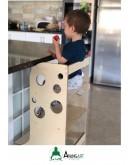 Öğrenme Kulesi-(Mama Tabureli) Learning Tower